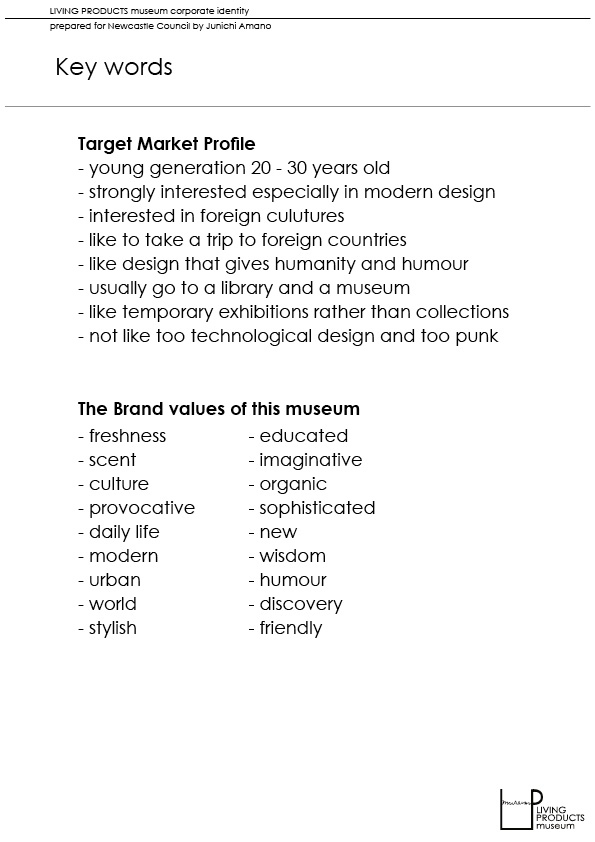 Living Products Museum:Style Guide